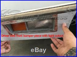 1982-1989 Lincoln Town Car Rocker Panel Molding Trim Molding 6 5/8 12Pc