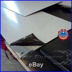 1987-1992 Cadillac Fleetwood Broughham Chrome Rocker Panel Trim FL 6 1/4