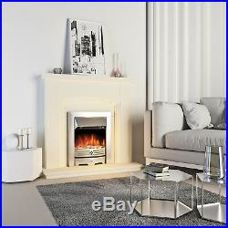 Excellent 2000W Stainless Steel Electric Fireplace Led Fan Heater Fire Download Free Architecture Designs Griteanizatbritishbridgeorg