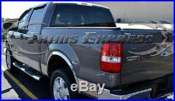 2009-2014 Ford F-150 Crew Cab Chrome Rocker Panel Trim 12Pc 7 Stainless Steel