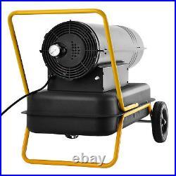 30KW Industrial Diesel / Kerosene Space Heater Workshop Factory 102500 BTU