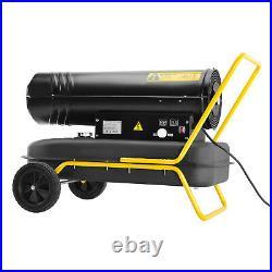 30kW Industrial Diesel Kerosene Space Heater Workshop Garage Electric Fan Warmer