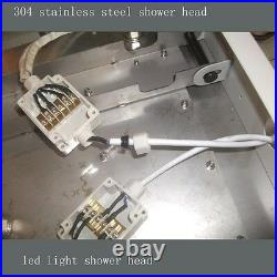 31 Large Rain LED Shower Head Double Waterfall Shower by Cascada Showers