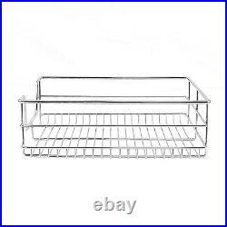 3 Pull Out Kitchen Storage Basket Rack Kitchen Wire Mesh Cabinet Organiser 600mm