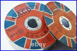 50 X METAL CUTTING / SLITTING DISCS 115MM 4.5 INCH x 1mm x 22mm ultra thin