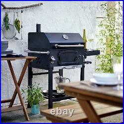 Argos Home American Style Steel Adjustable Charcoal Tray Outdoor Garden BBQ