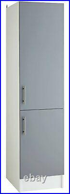 Argos Home Athina 500mm Fitted Kitchen Tall Unit Grey