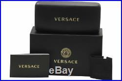 Authentic Versace VE2177 1252/87 Cat Eye Sunglasses Pale Gold / Grey Lens