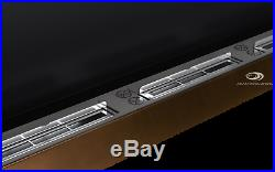BIO ETHANOL FIREPLACE Excellence BROWN WALL BURNER 1400x400 Wide flames! TUV