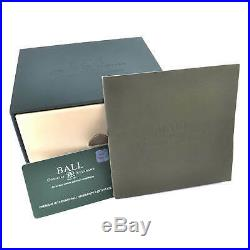 Ball Men's Watch Trainmaster Chronograph Black Dial Bracelet CM1010D-SJ-BK
