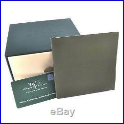 Ball Men's Watch Trainmaster Chronograph White Dial Bracelet CM1010D-SJ-WH