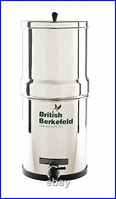 British Berkefeld Gravity Water Filter System with Heavy Metal Removal ATC SS2