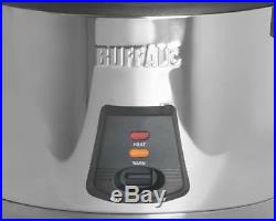 Buffalo 6 Litre Commercial Rice Cooker Ideal for Restaurant Take Away Pub Hotel