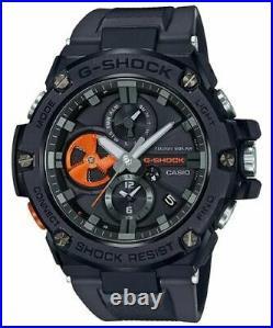 Casio G-Shock GSTB100B-1A4 G-STEEL Tough Solar Bluetooth Black Strap Watch