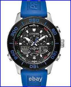 Citizen Eco-Drive Men's Promaster Sailhawk Ana-Digi Blue Strap Watch JR4068-01E