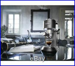 DELONGHI Dedica EC685BK Coffee Machine Black Currys