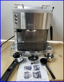 DeLonghi Ec702 15 Bar Pump Driven Espresso Latte & Cappuccino Maker REFURBISHED