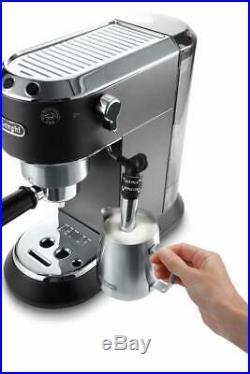 De'Longhi EC685BK 1.1L 1300W Dedica Style Pump Espresso Coffee Machine