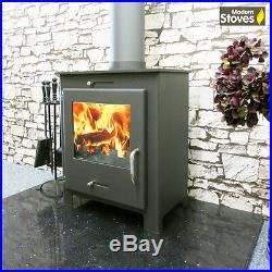 Defra Approved iStove 5kw Wood Burning Multi fuel, Wood Burner Modern Stoves
