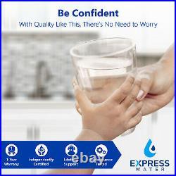 Deionization Reverse Osmosis Water Filtration System RO DI Softener 100 GPD