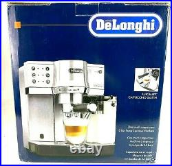 Delonghi EC860 15 Bar Pump Espresso Machine Latte One Touch Cappuccino NEW