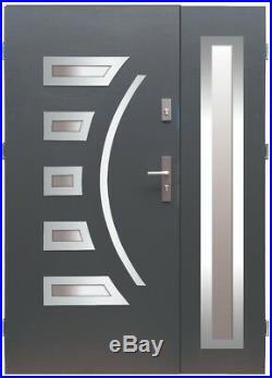 Fargo 23 DB stainless steel double door / exterior front entry door