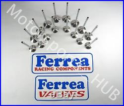 Ferrea 5000 Flat 16 Valve Set Acura Honda GSR DOHC VTEC B17A1 B18C 1994 2000