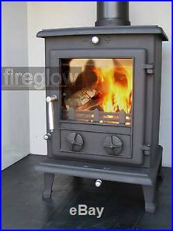Fireglow ECO7 DEFRA Approved Wood Burning Logburner Multifuel Stove 8kW