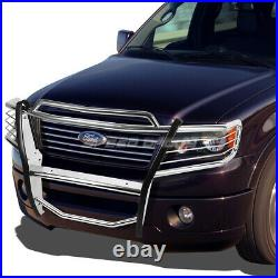 For 04-08 Ford F150 Pickup Truck Chrome Stainless Steel Front Bumper Grill Guard