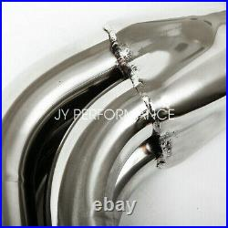For 2007-2013 Silverado/gmc Sierra Stainless Steel Long Tube Header With Y-pipe