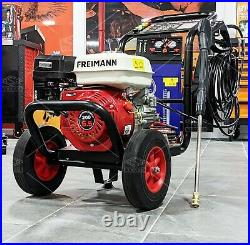 Freimann Petrol Pressure Washer 3500PSI / 240BAR POWER JET CLEANER