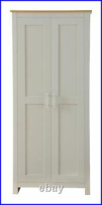 GREY OAK 3 PIECE WARDROBE SET COUNTRY SUPREME BEDROOM LUXURY Free UK Delivery