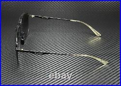GUCCI GG0336S 002 Aviator Black Grey 60 mm Men's Sunglasses