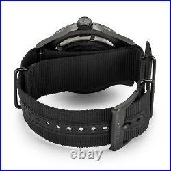 Glycine Men's 3951.999AT. N8. TB99 Combat Sub Automatic 48mm All Black GL0098