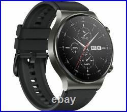 HUAWEI Smart Watch GT 2 Pro Night Black 46mm Water Resistant Currys