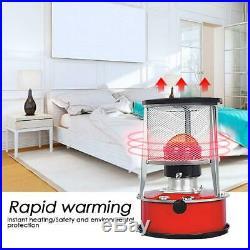 Household Kerosene Stove Heater Indoor Heater Heating Stove Smokeless 4.5L 6L