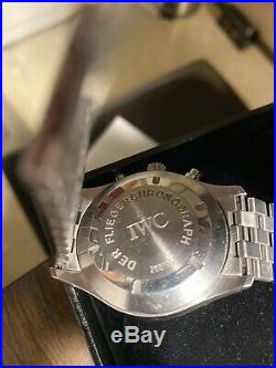 IWC Flieger Chronograph Iw3706 Stainless Steel metal bracelet Timepiece