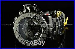 Invicta 70mm Full Sea Hunter Gun Metal Devil in the Dark Night Swiss SS Watch