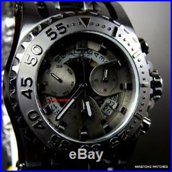 Invicta JT Chaos Combat 52mm Black Steel Jason Taylor Chronograph LE Watch New