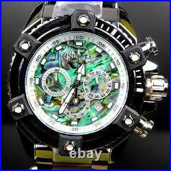 Invicta Reserve Grand Arsenal Octane Abalone Silver Full Size 63mm Watch New