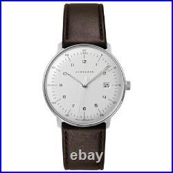 Junghans Men's Max Bill 041/4461.04 Quartz Watch 041/4461.00 NEW
