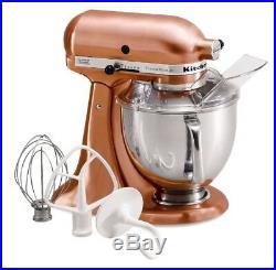 KitchenAid 5-Quart Artisan Custom Metallic Series Tilt-Head Stand Mixer Satin