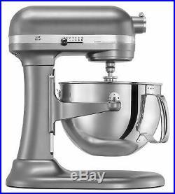 KitchenAid rKP26M1Xcs Professional 600 Stand Mixer 6 quart 10 speed Power SILVER