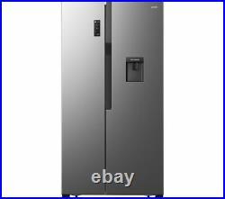 LOGIK LSBSDX20 American-Style Fridge Freezer Inox Currys
