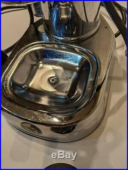 La Pavoni Professional Espresso Machine Chrome Used needs new gaskets