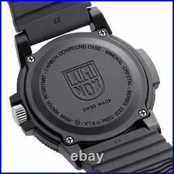 Luminox 0321. BO Sea Turtle Giant 0320 Men's Black Band Watch