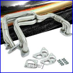Manzo Metallic Stainless Steel Exhaust Header Manifold For 02-07 Subaru Impreza