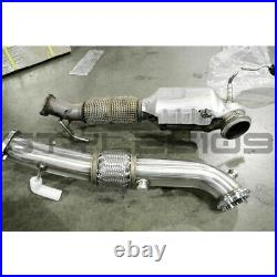 Megan Racing Exhaust Pipe Downpipe For 13-18 Ford Focus ST 2.0 Turbo