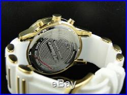 Mens 47 MM Jojino/Joe Rodeo Aqua Master Chrono Metal Band Diamond Watch Mj-1185