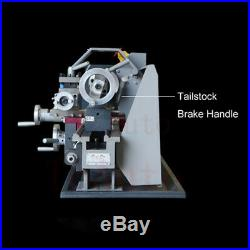 Mini Metal Lathe Machine 110V Variable Speed 750W Stainless Steel Processing